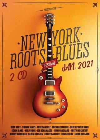 Обложка New York Roots Blues (2 CD) (2021) Mp3