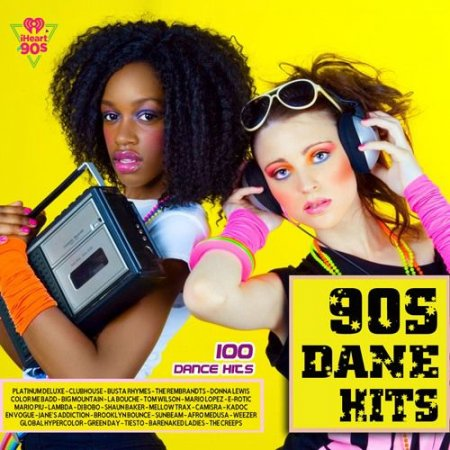 Обложка 90s Dance Hits (2021) Mp3