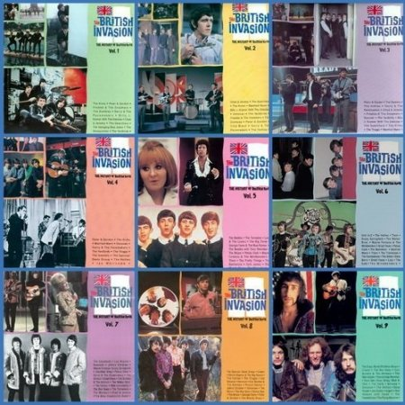 The British Invasion - History Of British Rock Vol. 1-9 (complete) (2021) Mp3