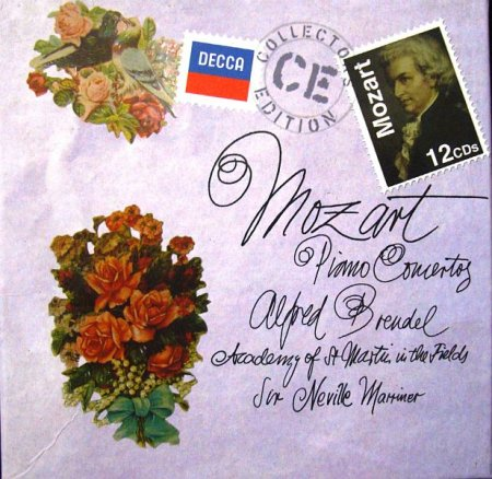 Обложка Mozart: Piano Concertos (12CD Box Set) (2011) FLAC