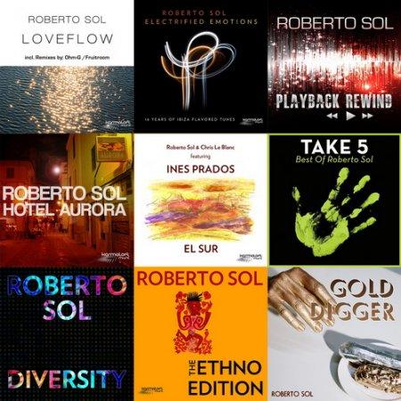 Обложка Roberto Sol - Discography 9 Releases (2012-2020) Mp3