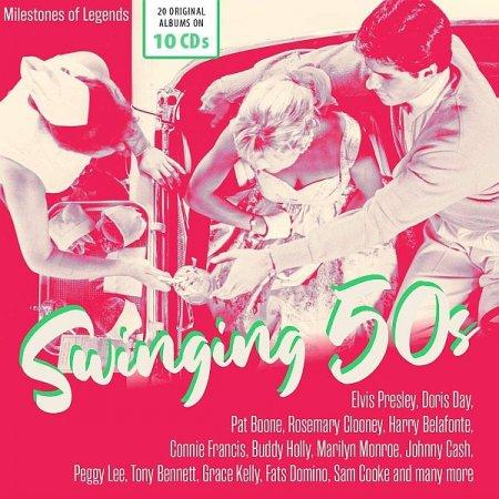 Обложка Swinging 50s (10 CD) (2021) Mp3